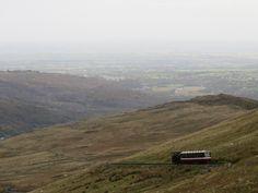 Snowdon mountain railway, Wales,