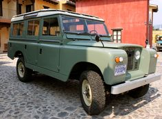 1968 land rover series