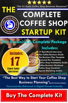 How to start a coffee shop, the complete coffee shop startup kit
