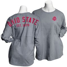 Ohio State Buckeyes Spirit Shirt Graphite