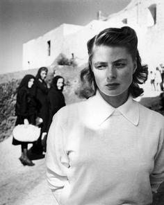 Gordon Parks - Ingrid Bergman at Stromboli, 1949