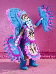 8d58855cca6596 Charles Fréger photographed Mardi Gras Indians
