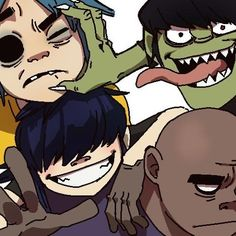 I'm predicting that on Noodle's 23rd bday, October 31, 2013, Gorillaz will release a debut song/album. X) LETS HOPE!!!