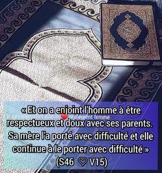Les Religions, Coran, Muslim, Tips, Love, Quote, Islam