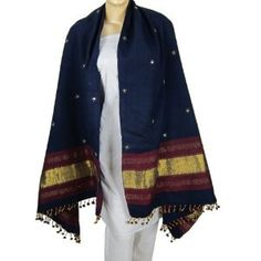 Thread Mirror Embroidered Pattern Shawl Wrap Scarf for Women Wool Size: 80 Inches x 40 Inches (Apparel)  http://www.amazon.com/dp/B007HIFV7K/?tag=http://howtogetfaster.co.uk/jenks.php?p=B007HIFV7K  B007HIFV7K