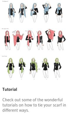 Can never get enough of hijab tutorials