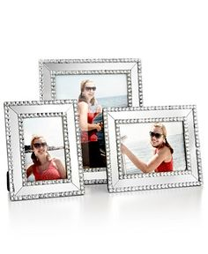 Mirrored Sparkle 4 x 6 Picture Frame - Picture Frames - For The Home - Macy's