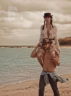 Amanda Wellsh  Will Chalker by Mariano Vivanco for Vogue Russia June 2014
