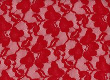 Red Stretch Lace
