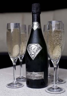 Jackpot! World's most expensive champagne, worth 1.8 million  by Alexander Amosu. Win it big at www.Lottoland.co.uk and enjoy each drop of this marvelous drink ;)