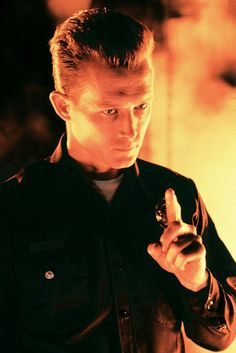 Robert Patrick for the hero or villain. He's worked with Arnold, and Bruce Willis before on terminator 2 and die hard Terminator 1984, Terminator Movies, Terminator Tattoo, King Kong, Science Fiction, Digital Film, Sci Fi Films, Arnold Schwarzenegger, The Villain