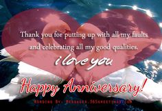 Happy Anniversary Wishes Images and Quotes. Send Anniversary Cards with Messages. Happy wedding anniversary wishes, happy birthday marriage anniversary Anniversary Quotes For Wife, Happy Anniversary To My Husband, Happy Wedding Anniversary Wishes, Romantic Anniversary, Marriage Anniversary, Wife Quotes, How To Make Tea, Are You Happy, I Am Awesome