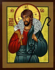 shepherd icon | Christ the Good Shepherd