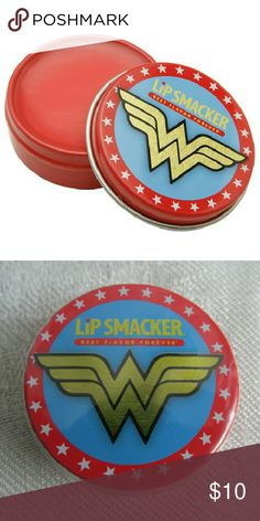 🔒Firm Price🔒Wonder Woman Lip Smacker I love the packaging on this. A ed13ddcabdade