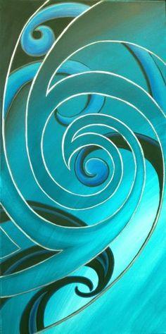 Posts about Abstract Painting written by Reina Cottier Art Art Images, Art Pictures, Maori Symbols, Spirals In Nature, Maori Patterns, Polynesian Art, Maori Designs, Nz Art, Maori Art