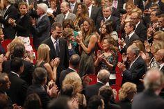 Así fue la ceremonia de los Premios Príncipe de Asturias - elcomercio.es Que orgullosa se vé a la madre de Letizia.