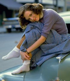 "Lea Thompson in ""Back to the Future"""