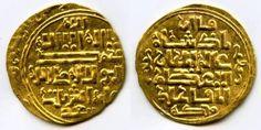 Iran Salghurids Gold Coin Atabegs of Fars Queen Abish bint Sa'ad 1265 - 1285 AD XF+
