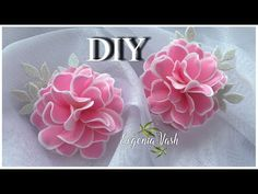 Зефирная Нежность| Так ПРОСТО и КРАСИВО | ФОАМИРАН | Flowers from FOAMIRAN - YouTube Paper Flower Patterns, Paper Flowers Diy, Handmade Flowers, Felt Flowers, Fabric Flowers, Foam Sheet Crafts, Foam Crafts, Flower Stamen, Recycled Plastic Bags