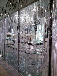 Feng shui Good Fortune crystal hanging curtain 15 pieces ( 3 to 4 feet wide) - Feng shui Good Fortune crystal hanging curtain 15 pieces 3 Crystal Curtains, Beaded Curtains, Door Curtains, Hanging Curtains, Fancy Curtains, Glitter Curtains, Balloon Arch Diy, Hanging Crystals, String Lights Outdoor