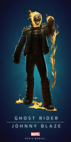 "Marvel Comics: Ghost Rider ""Johnny Blaze"""