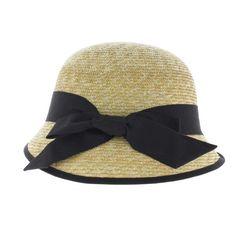 chapeau cloche paille - boutique de chapeau de paille