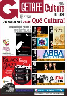 AGENDA CULTURAL DE GETAFE OCTUBRE 2014
