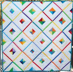 Wonderful Handmade Baby String Quilt by StormyDays on Etsy https://www.etsy.com/listing/198606546/wonderful-handmade-baby-string-quilt