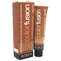 Redken Color Fusion Cream Natural Fashion Hair Color, Copper/Red, 2.1 Ounce * You can find more details by visiting the image link. (This is an affiliate link and I receive a commission for the sales)