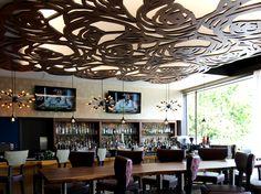 Lebanon-Racino-Daisies-Ceiling-Panels 679///Design,LIGHTWAVE LASER