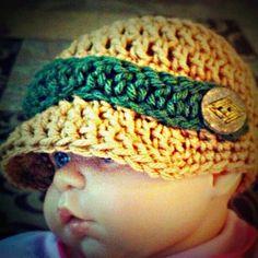 Newsboy hat- PDF pattern. $3.50, via Etsy.