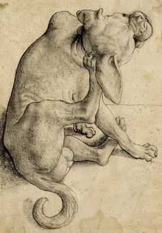 Sotheby's New York Jan. Old Master Drawings Jan. 29 - Important Old Master Paintings, Including European Works of Art Jan. Drawing Fist, Painting & Drawing, Animal Paintings, Animal Drawings, Dachshund, Gato Animal, Puppy Images, You Draw, Old Master