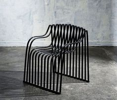 contour, garden chair, 2013 by julian mayor