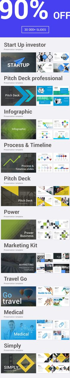 10 in 1 Bundle Powerpoint Template