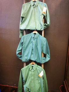 Men's Button ups call today for yours 620.796.2355