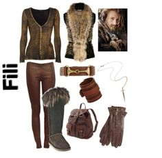 the hobbit inspired outfit ~ fili