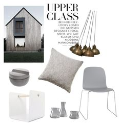 """Industrial interior"" by trendsy on Polyvore featuring interior, interiors, interior design, home, home decor, interior decorating, French Connection, XLBoom, Muuto and Iris Hantverk"