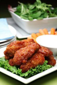 This page contains Buffalo wings recipes. These deep fried chicken wings have gained wide popularity since their introduction in Buffalo, New York.