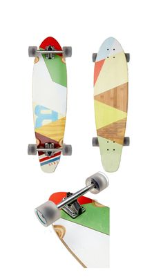 Roxy Block Party Skateboard