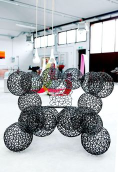 """""""Che palle""""chair by Anacleto Spazzapan"""