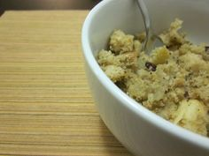 Gluten Free Stuffing | No One Likes Crumbley Cookies