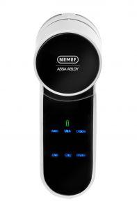 Nemef ENTR motorcilinder met mechanische cilinder Smart Watch, Charger, Coding, Meet, Om, Smartwatch, Programming