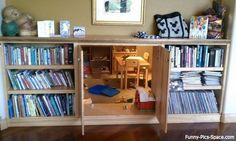 AWESOME secret passage way! I love this!