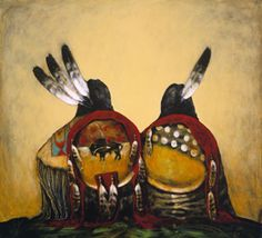 """Lets Talk My Brother (Giclee)"" Dale Auger Native American Paintings, Native American Pictures, Native American Beauty, Native American Artists, American Indian Art, Native American History, Indian Paintings, Native American Indians, Artwork Paintings"