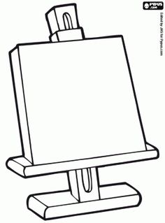 Coloring page donkey - kunst Rembrandt, Artists For Kids, Art For Kids, Fun Arts And Crafts, Art Drawings For Kids, Piet Mondrian, Art Themes, Preschool Art, Art Classroom