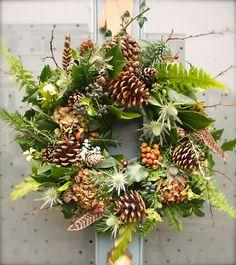 All natural christmas wreath
