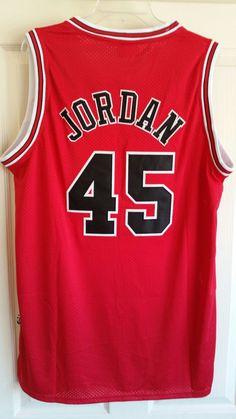 7463d2fd3fe #45 JORDAN BULLS COMEBACK BASKETBALL JERSEY M L OR XL for Sale in Oakland  Park, FL