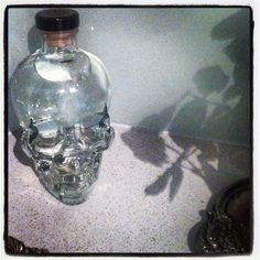 One of my bucket list goals in life is to line a wall with these Crystal Head vodka containers and drywall over it so that one day, when they tear down my house, they wonder wtf and have a great story to tell!