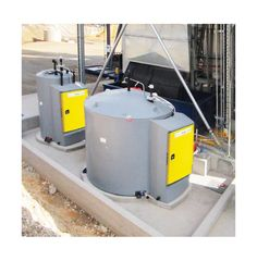 ChemMaster Self-Bunded Chemical Storage Tank with Cabinet | Polymaster Group