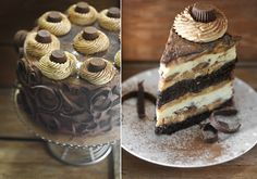 Peanut Butter Cup Chocolate Cake Cheesecake.